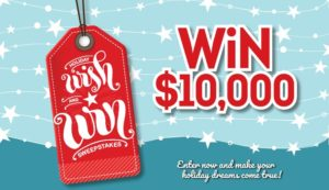 Sweepstakes: Win $10,000 Cash